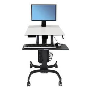 Ergotrom Workfit Sit Stand Workstation