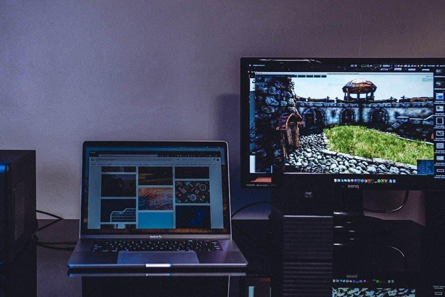 laptop-monitor