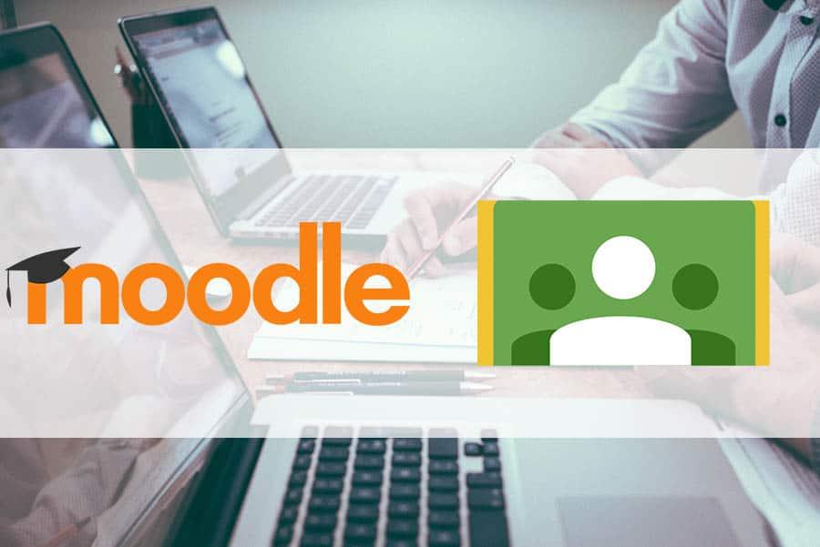 moodle-google-classroom