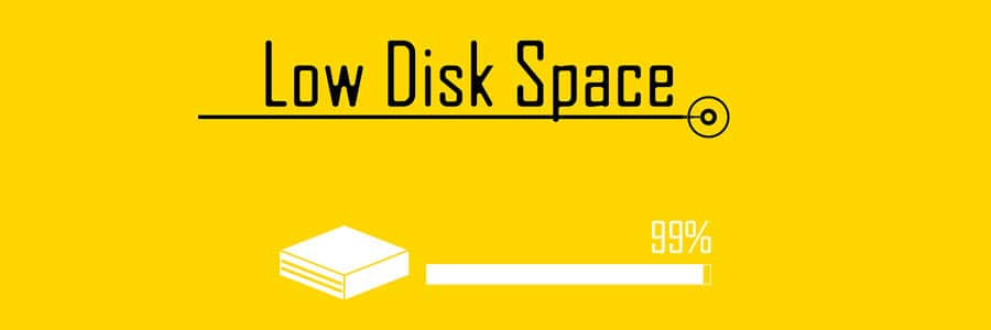 low-disk-space