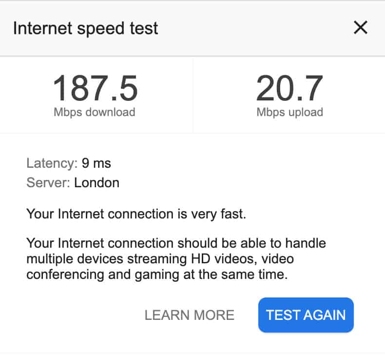 speed-test