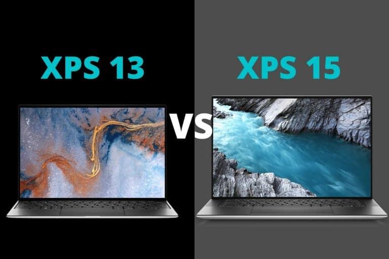 Dell XPS 13 vs 15