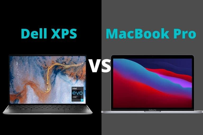 Dell XPS vs MacBook Pro