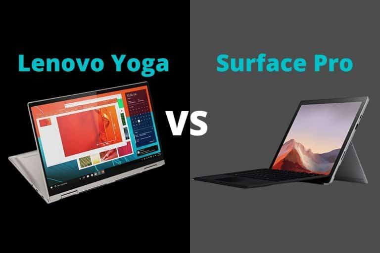 Lenovo Yoga vs Surface Pro