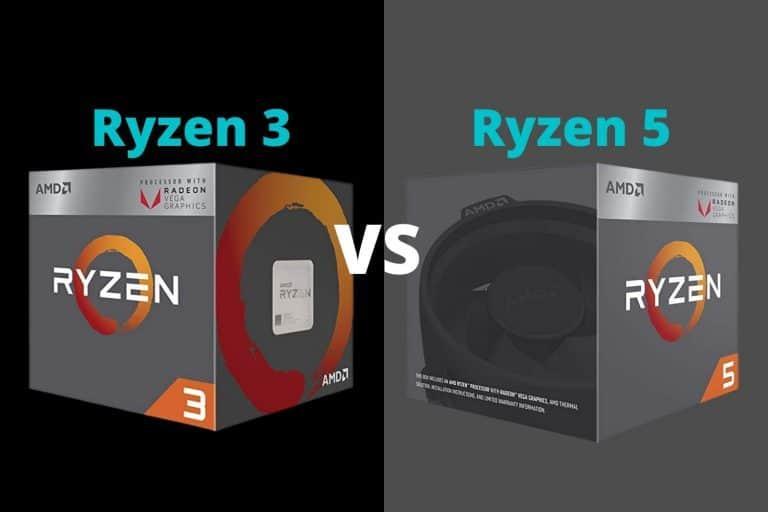Ryzen 3 vs Ryzen 5