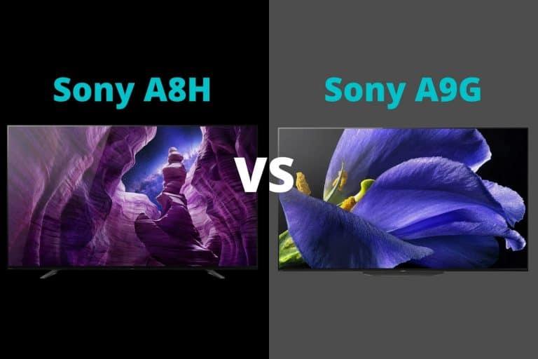 Sony A8H vs A9G