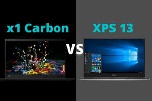 x1 Carbon vs XPS 13