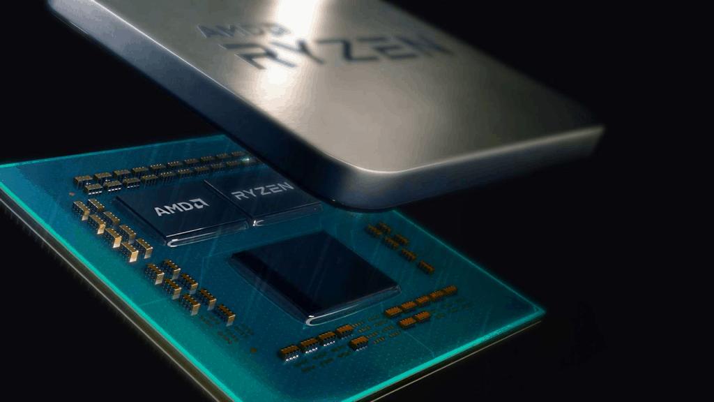 AMD Ryzen 5 chip inside