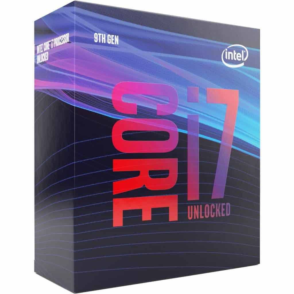 Core i7 9th Generation