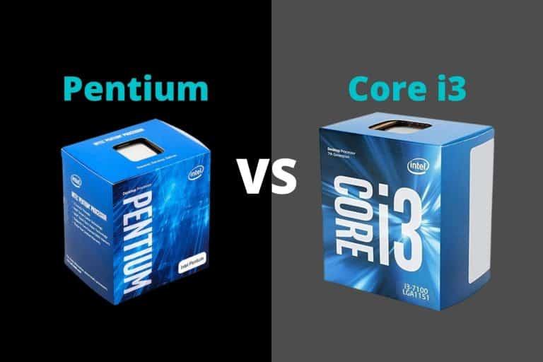 Intel Pentium vs i3