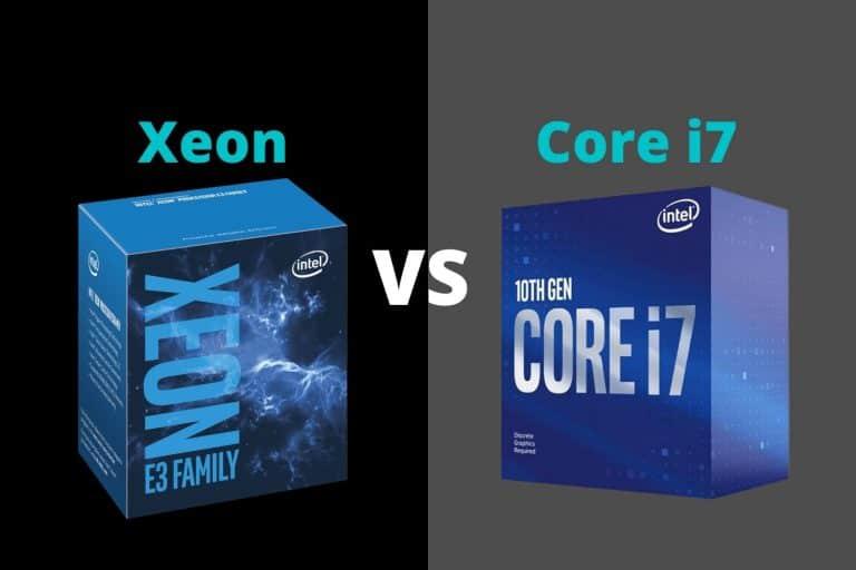 Intel Xeon vs i7