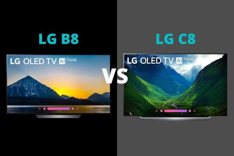LG B8 vs C8