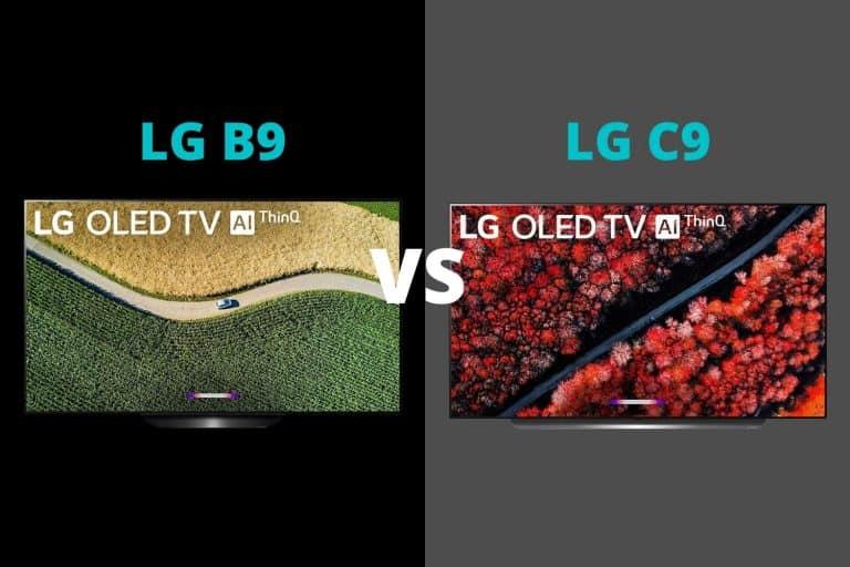LG B9 vs C9