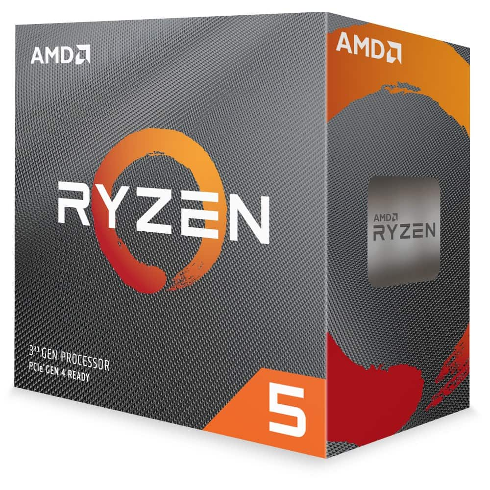 Ryzen 5 3600 processor box