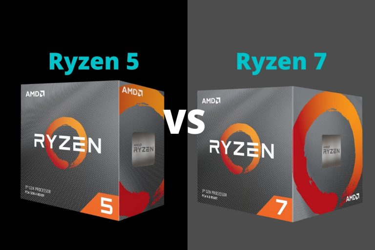 Ryzen 5 vs Ryzen 7