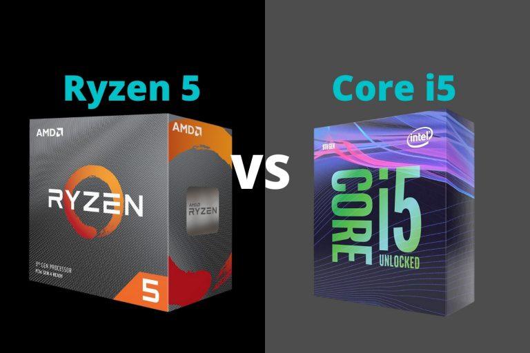 Ryzen 5 vs i5 | Ryzen 5 3600 vs i5 9600k