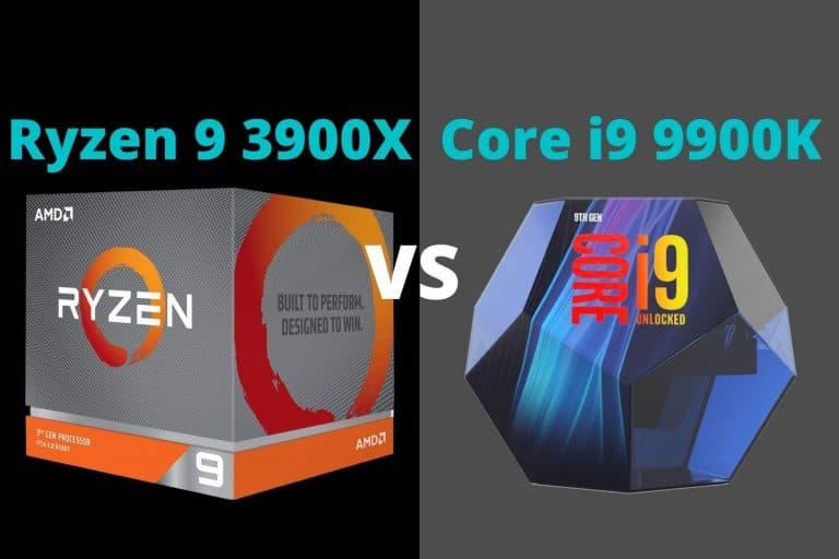 Ryzen 9 3900X vs i9 9900K