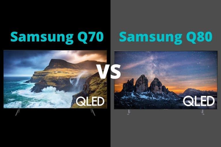 Samsung Q70 vs Q80