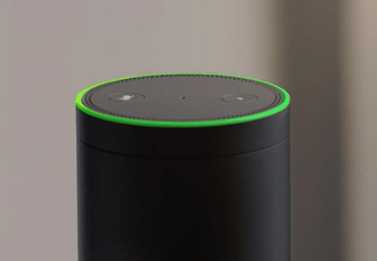 Alexa Flashing Green Light