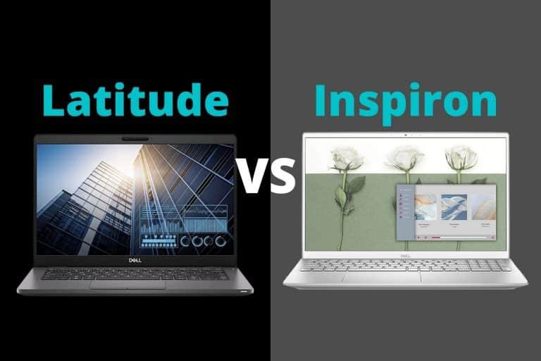 Dell Latitude vs Inspiron