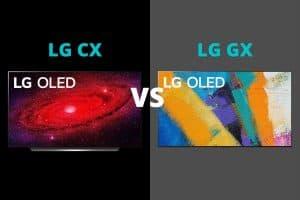 LG CX vs GX