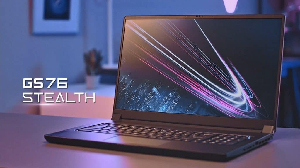 MSI GS76 Stealth with an i7-11800H