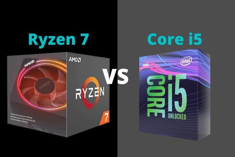 Ryzen 7 vs i5