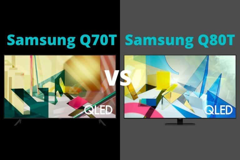 Samsung Q70T vs Q80T