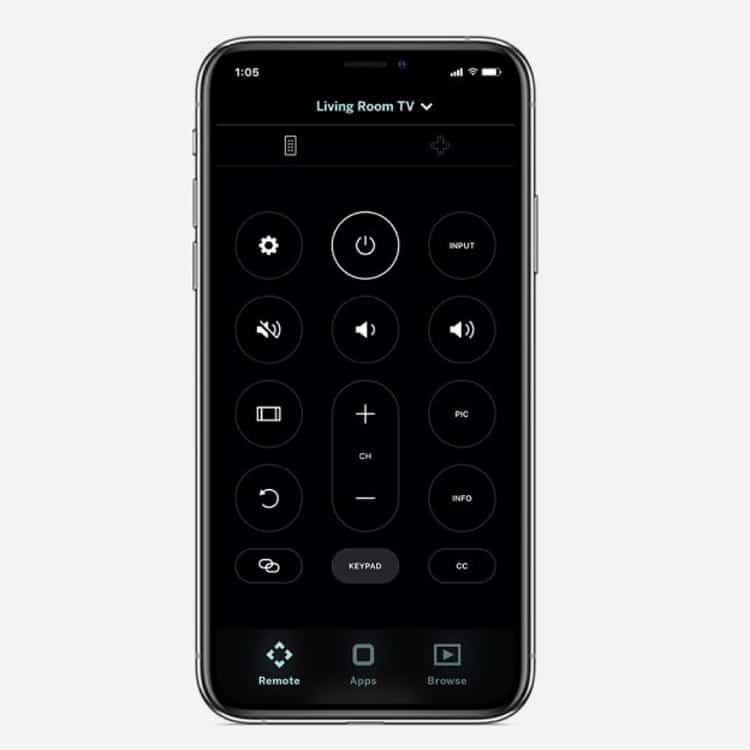 VIZIO SmartCast Mobile App Remote