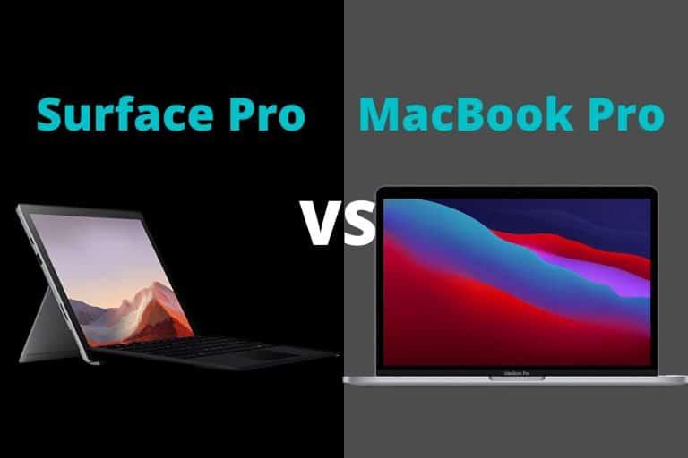 Surface Pro vs MacBook Pro