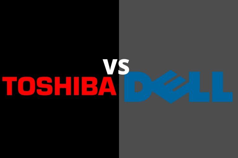 Toshiba vs Dell