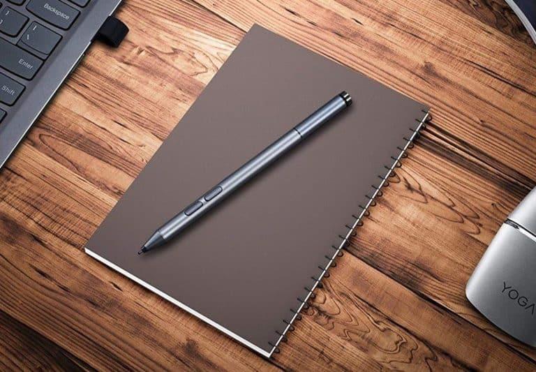 how to use lenovo active pen