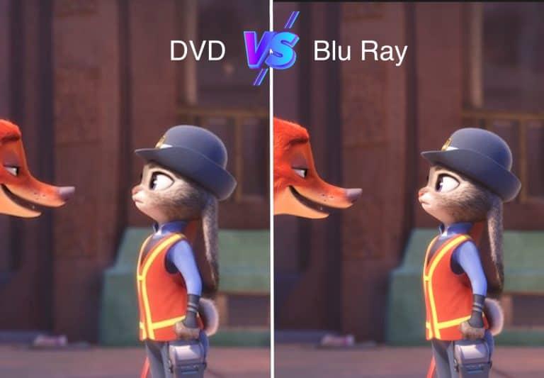 Blu Ray vs DVD