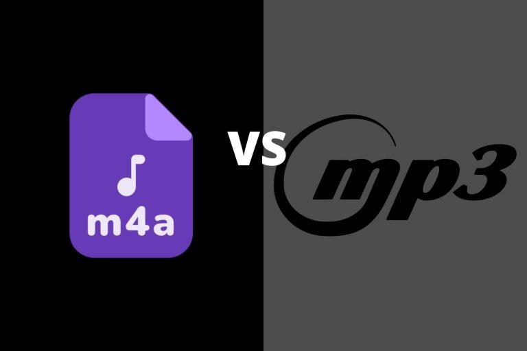 M4A vs MP3
