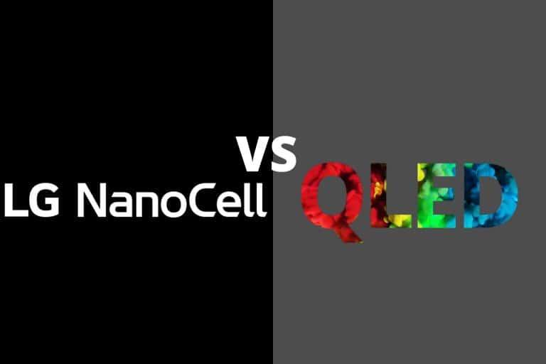 NanoCell vs QLED