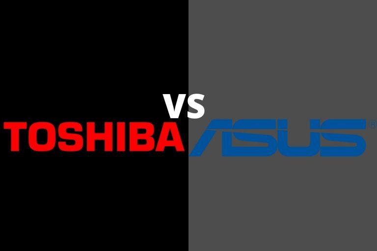 Toshiba vs Asus